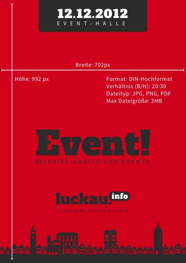 luckauinfo_Eventposter_BeispielA